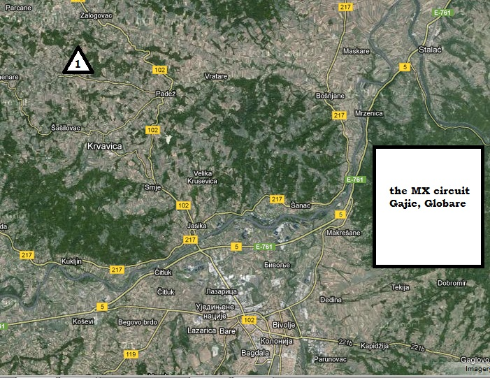Map Globare